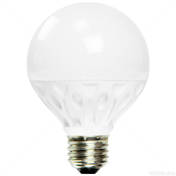 LED - 8 Watt - G25 Frosted Globe - 3.1 in. Diameter Image