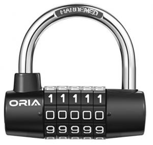 Padlock Combination Lock,Brass Combination Lock 4 Digit Anti Rust Padlock Weatherproof Padlock Gate Gym Outdoor Storage Lock,Suitcase Luggage Locks