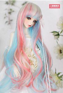 Love multi-colored hair on BJDs!