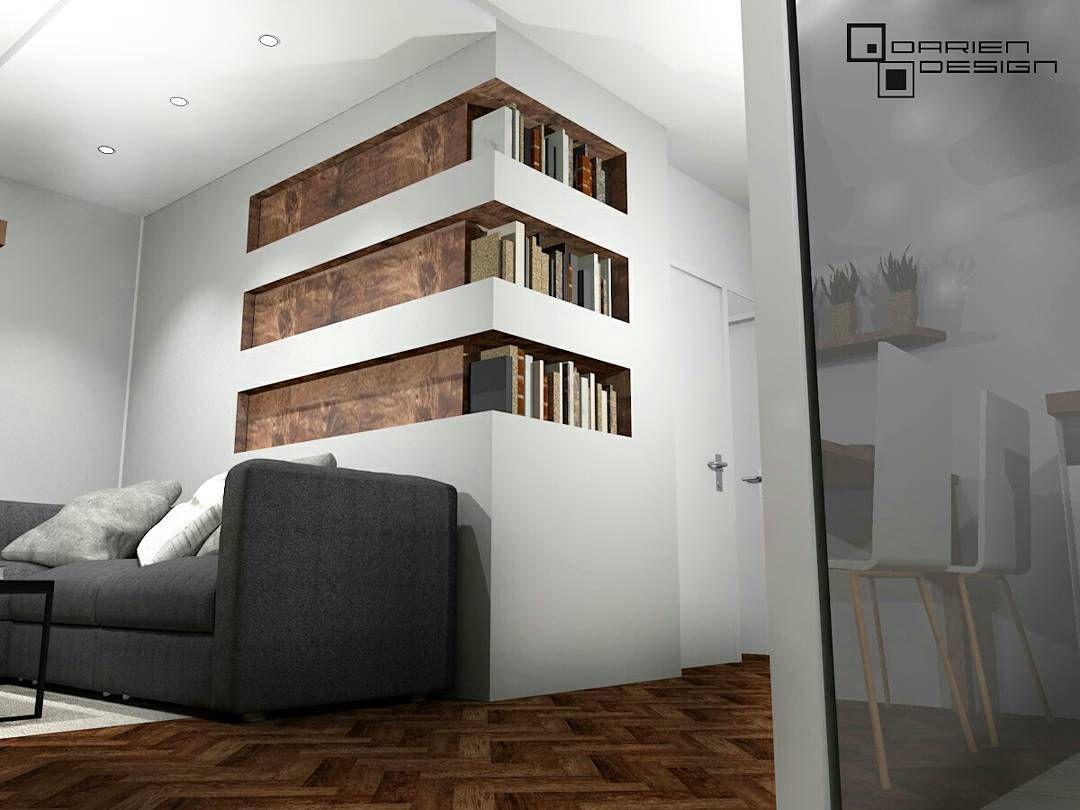 Projekt Wnętrza Salonu W Poznańskim Mieszkaniu Dla Pary