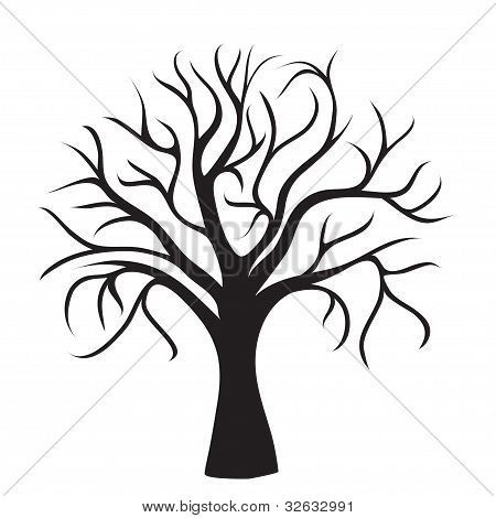 Tree trunk coloring page tree trunk with no leaves colouring pages page 3