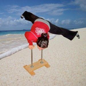 Calisthenics Handstand Canes; H-Base for Fitness Gymnastics Acrobatics Yoga