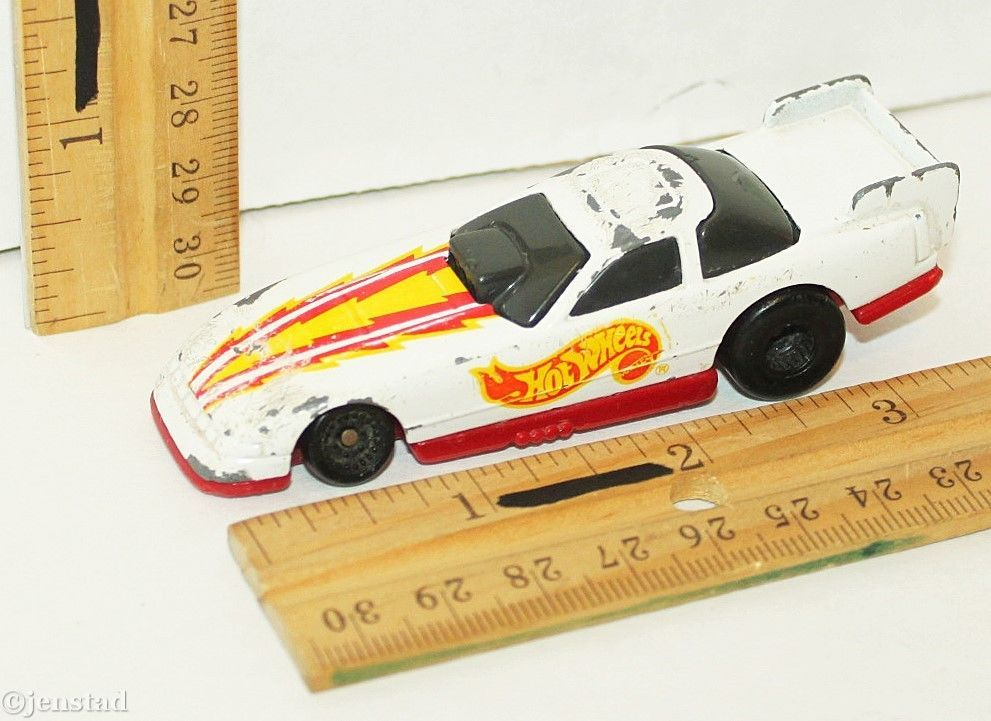 Hot Wheels Ford Probe Funny Racing Car Mcdonalds Flame Series Diecast 3 5 Used Mattel Hot Wheels Ford Probe Race Cars