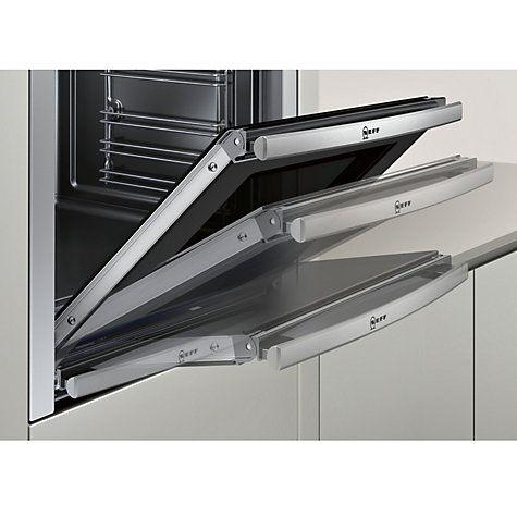 Buy Neff B44M42N5GB Slide and Hide Built-In Single Oven, Stainless Steel Online at johnlewis.com