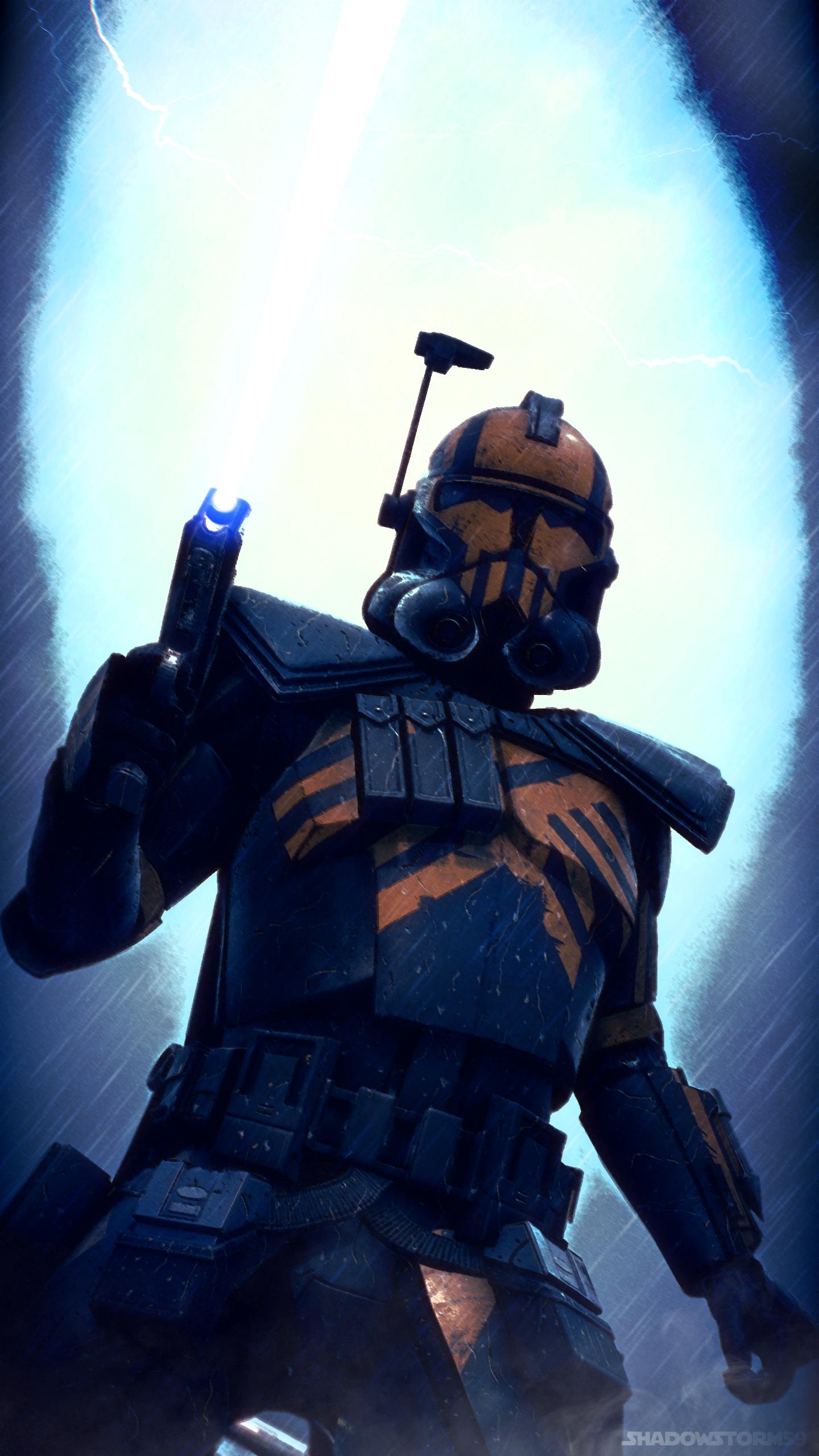 Star Wars Umbra Operative Clone Wallpaper In 2020 Star Wars Trooper Star Wars Images Star Wars Pictures
