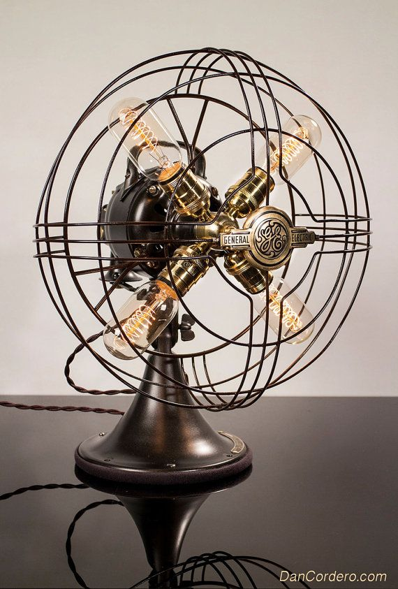 Qdwrcboex Desk Light Fan Lampwestinghouse Model Bed Table c31JTlFK