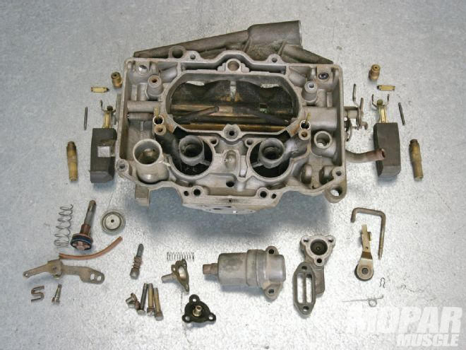 Mopp 1304 03+rebuilding A Carter Thermoquad Carburetor+upper