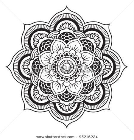 Mandala Tattoo Designs Despite Growing In Murky Water The Lotus Flower Grows Beautifully And Perfect