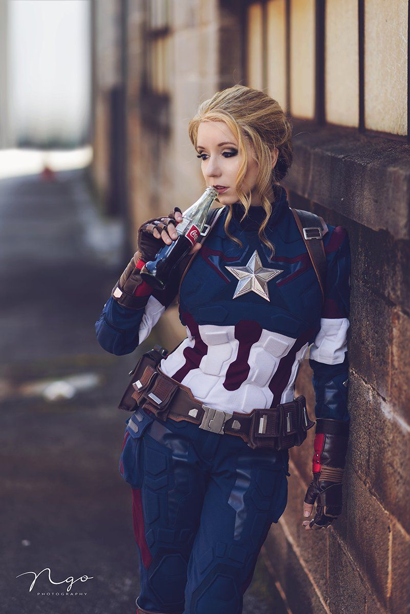 Pin On Cosplay Haven Diy captain marvel costume that only takes a couple days and roughly $23 to make. pinterest