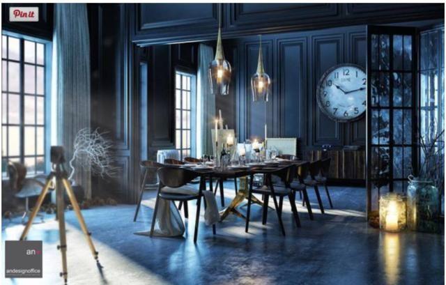 FREE 3D Interiors Scene 3dsmax Vray 18 Loft