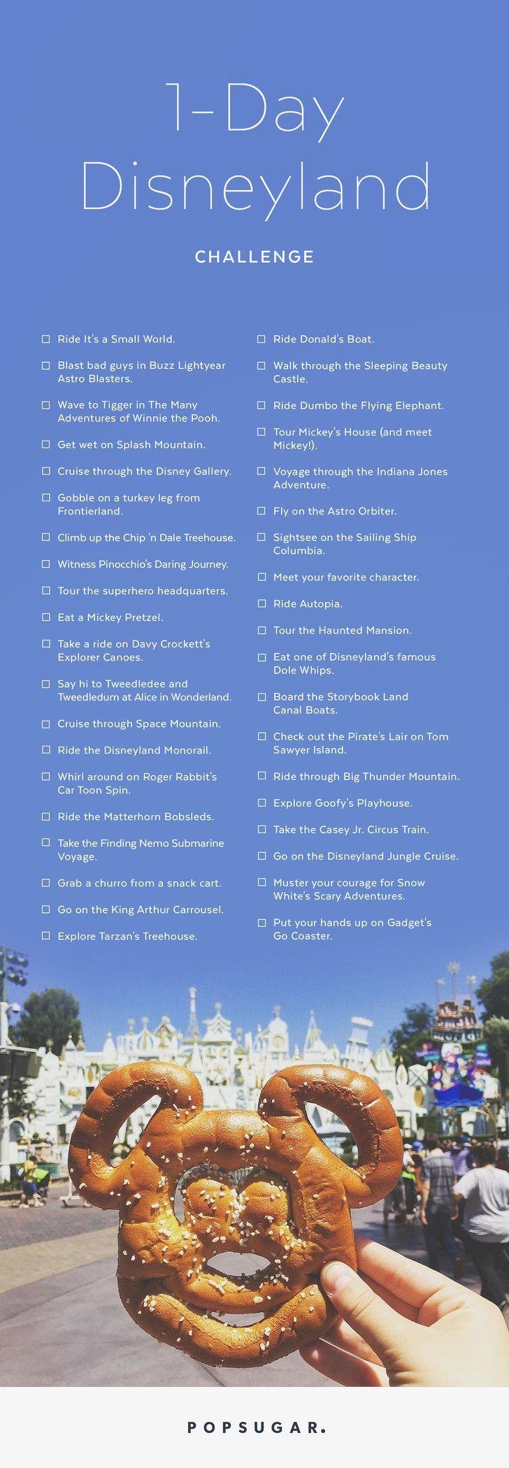 Photo of Wir wagen es, diese 45 Dinge in Disneyland zu versuchen. . . in 1 Tag