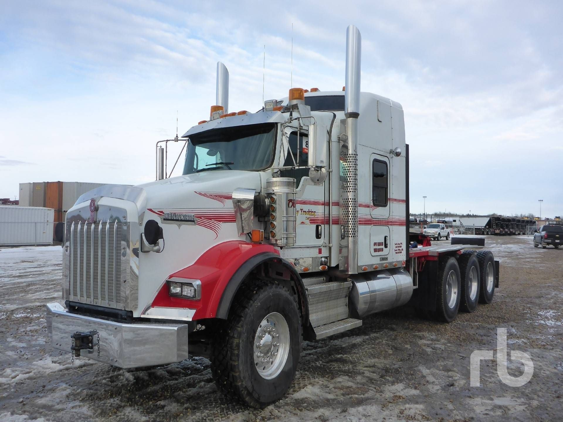 2014 kenworth t800 sleeper truck tractor tri a lot 89a ritchie