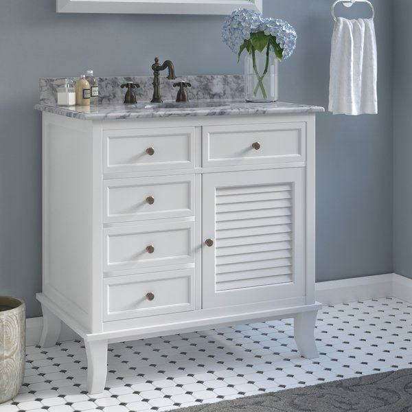 doris 34 single bathroom vanity set with marble counter on replacement countertops for bathroom vanity id=20158