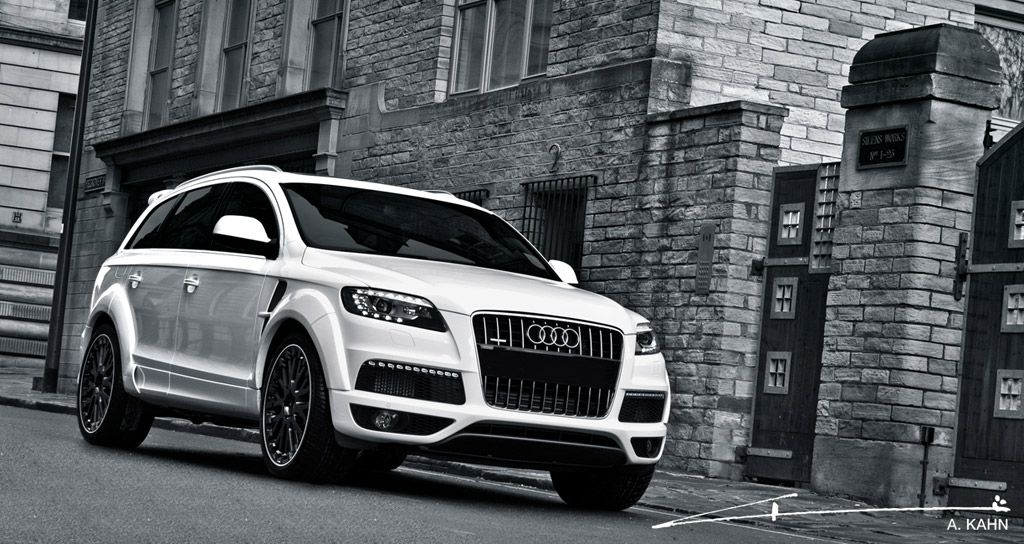 Project Kahn Black & White Audi Q7 | CARS & MOTORS | Audi q7