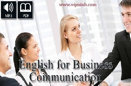 English for Business Communication [eBook pdf