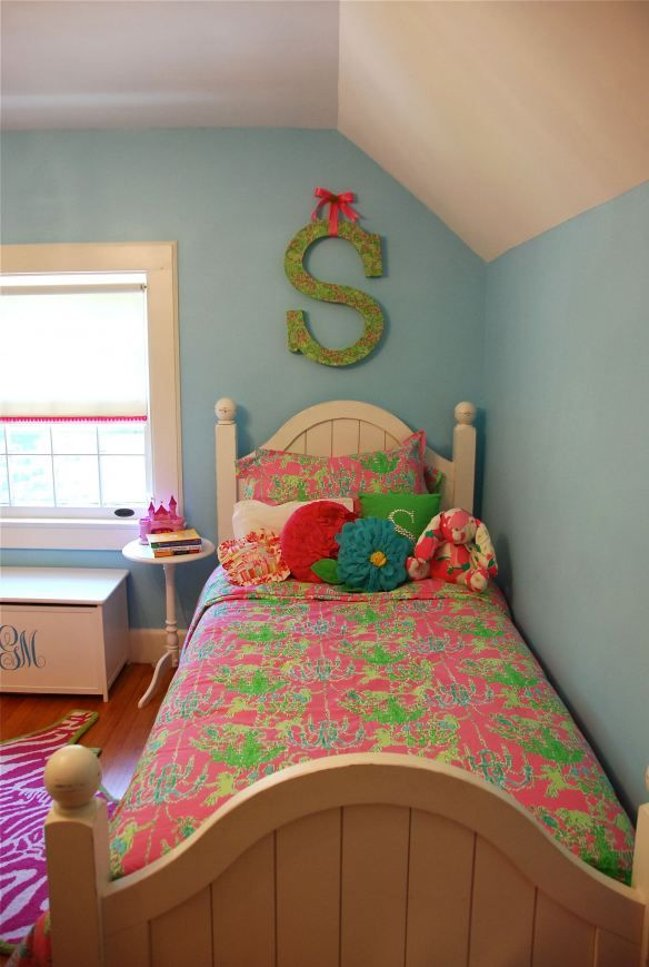 The Great Little Cutie Room Reveal Room, Girls and Bedspread