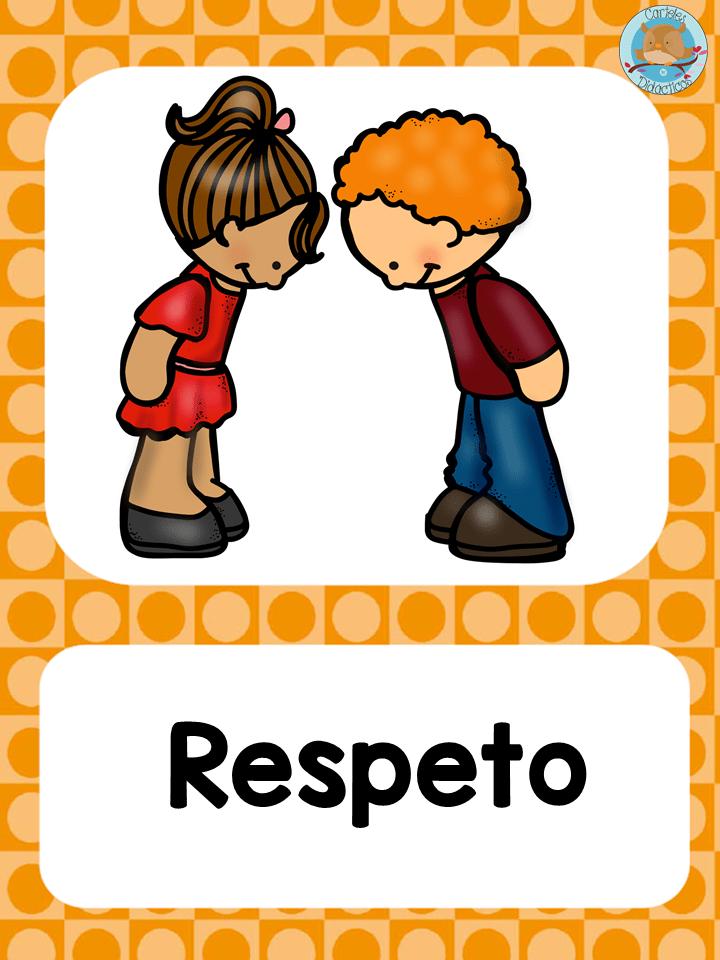 Valores Tarjetas 10 Educacion De Valores Valores En La Escuela Actividades Para Preescolar