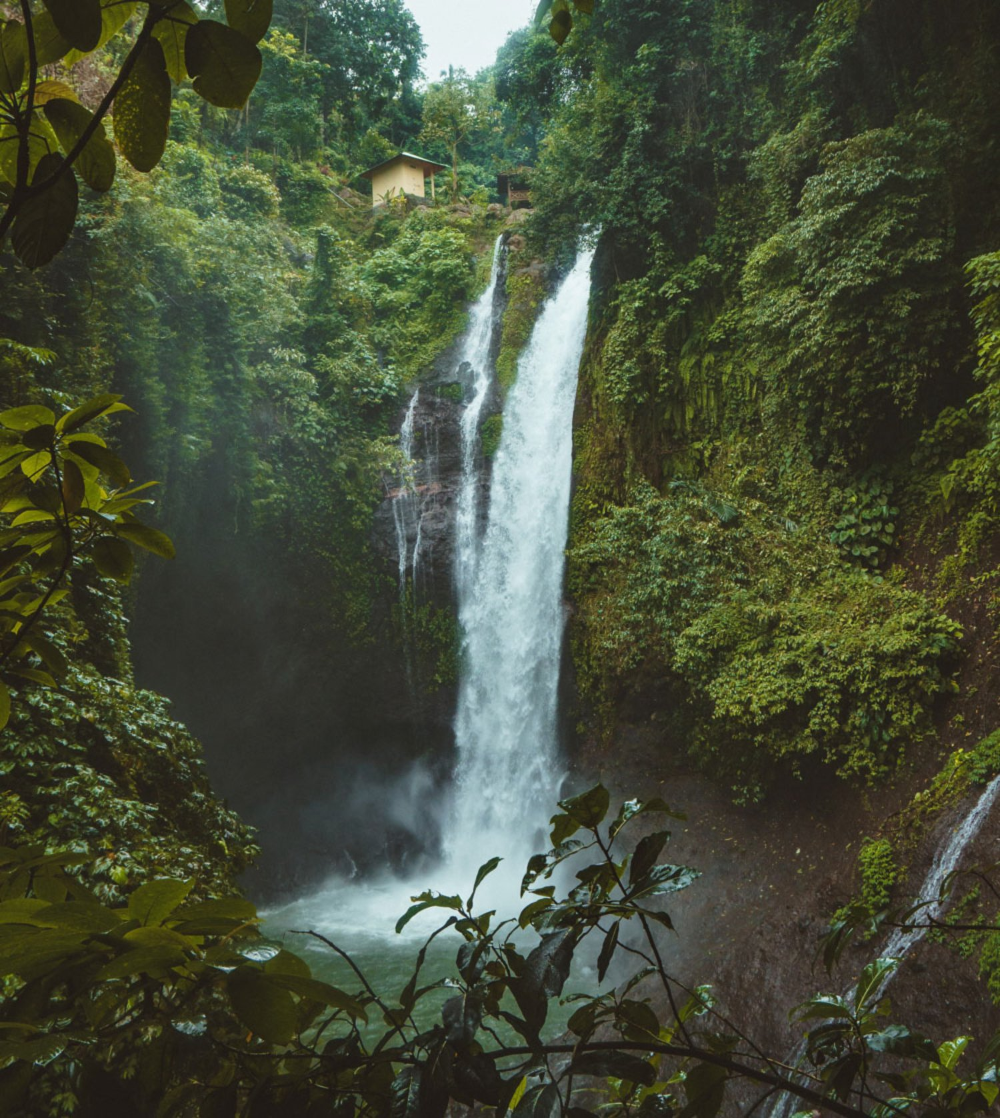 Aling-Aling Waterfall North Bali Tour Itinerary From