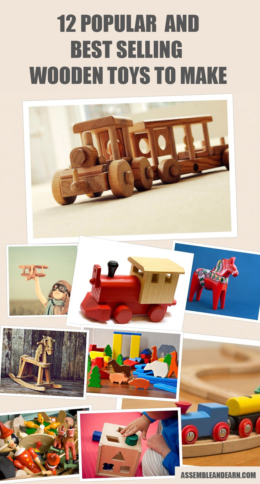 12 best selling wood toys | make money with woodworking