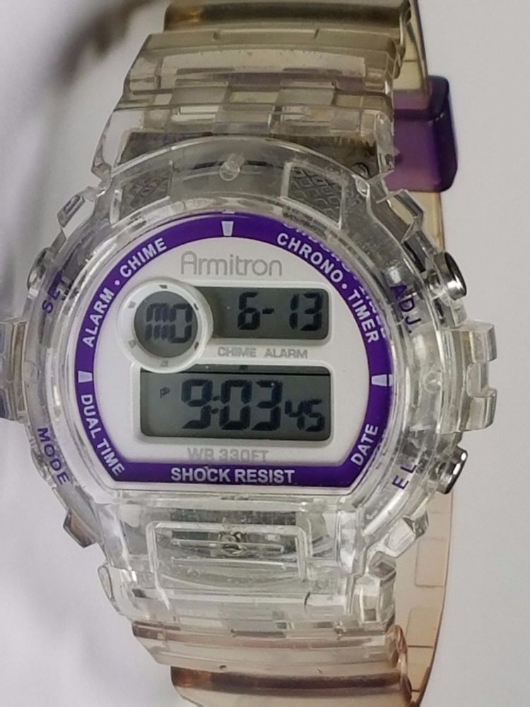 Armitron AllSport 45/7016 Digital Chronograph Wrist Watch