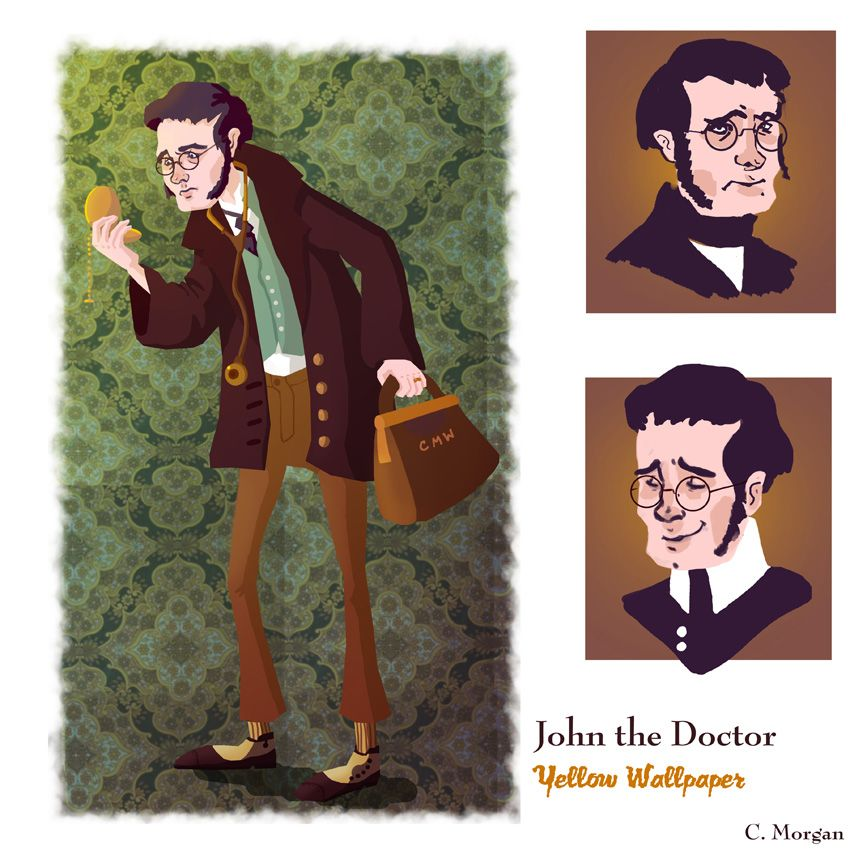 John The Physicianhusband In The Yellow Wallpaper  The  Yellow Wallpaper Analysis Essay John The Physicianhusband In The Yellow  Wallpaper