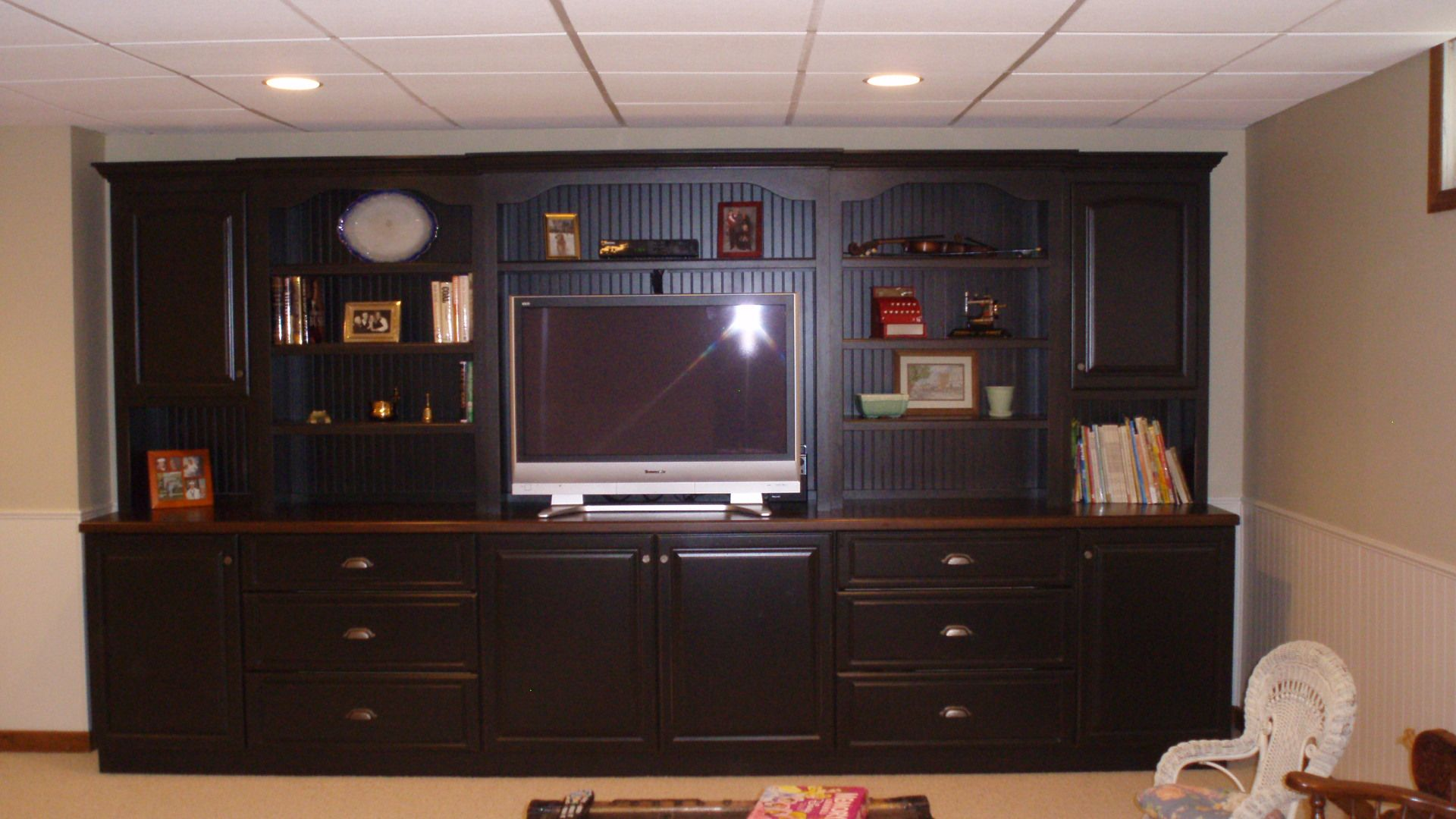 wall unit cabinets   Previous post CUSTOM BUILT CHERRY WALL UNIT ...
