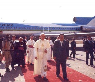 Cuando el papa Juan Pablo II Visito Honduras TAN/SAHSA desde Ciudad de  Guatemala | Honduras, Giovanni, Pablo