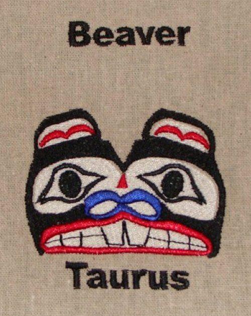 Native American Zodiac Animal Beaver April