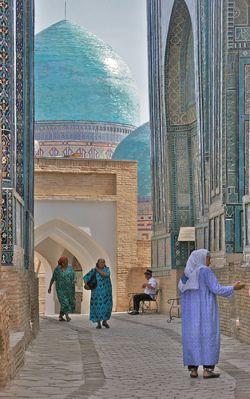 """i-ncense: """" Samarkand, Uzbekistan """" blue-boho"""
