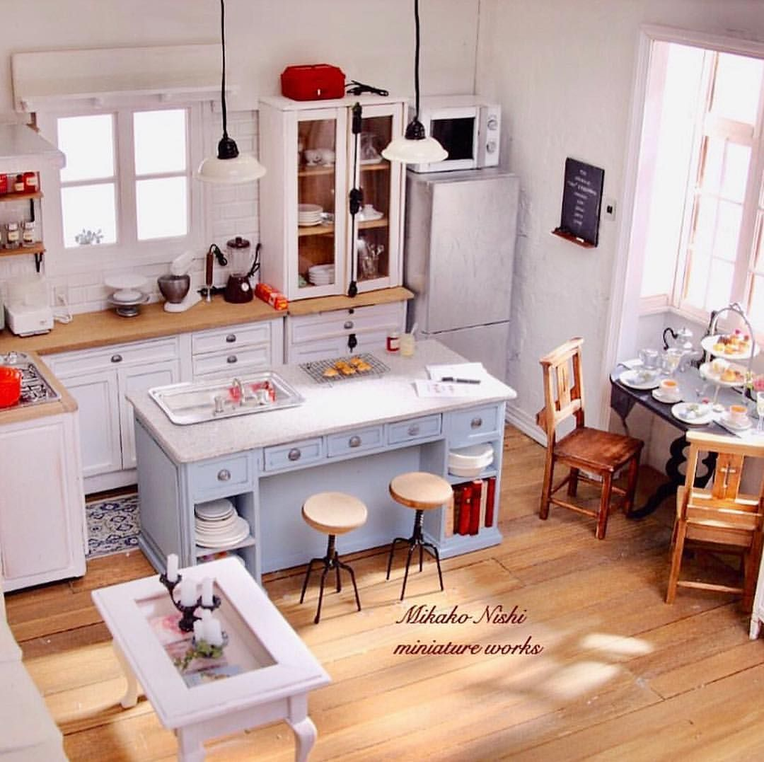 #miniaturekitchen