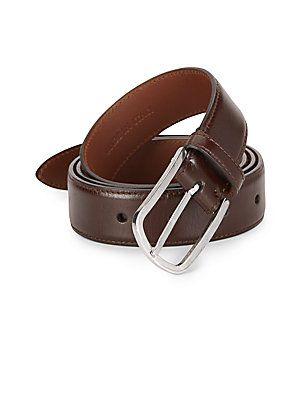 Brunello Cucinelli Leather Belt - Brown - Size 105 (42)