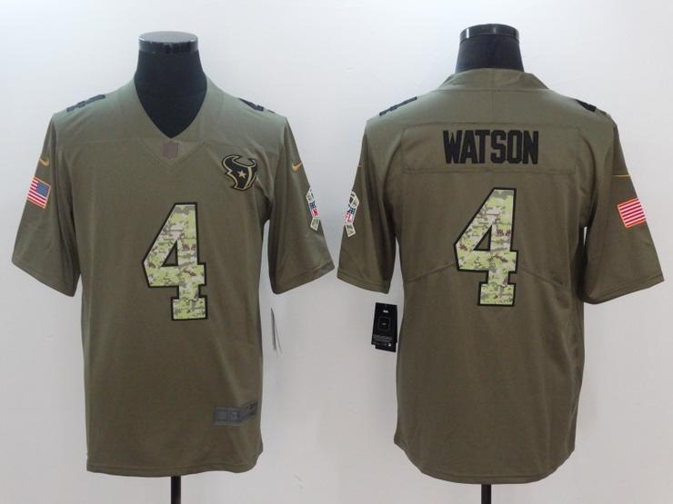 on sale b696a 6e1e9 Men 04 Deshaun Watson Jersey Football Houston Texans Jersey ...