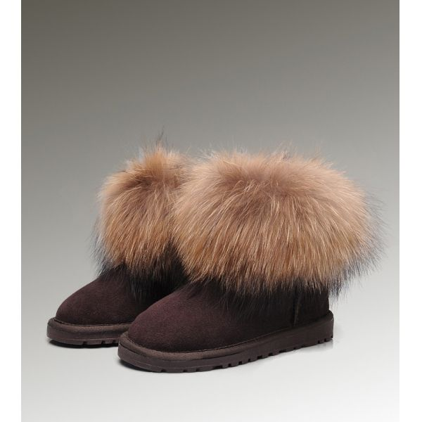 online wholesale attractive ugg fox fur mini 5854 boots for uk ugg rh pinterest com