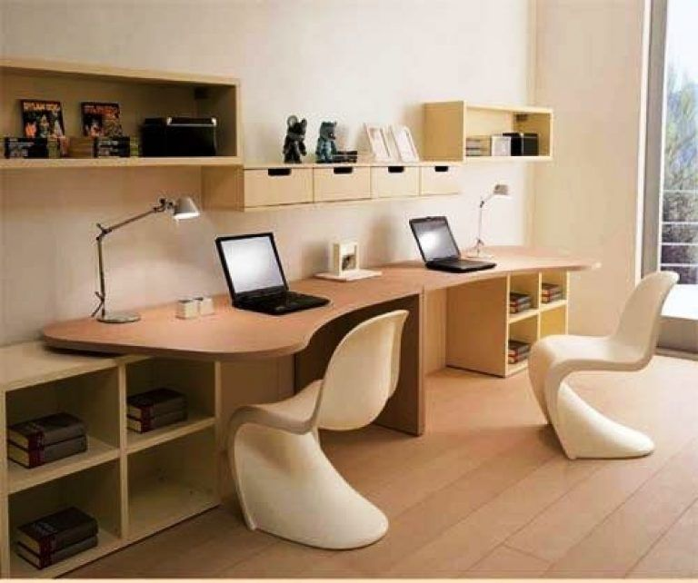 Impressive Two Person Office Desk 2 Home Design Solutions For Designing