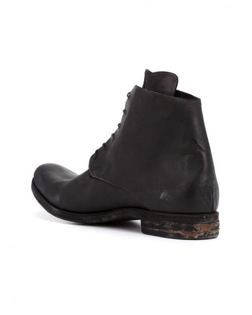 A Diciannoveventitre | Black Distressed Boots for Men | Lyst
