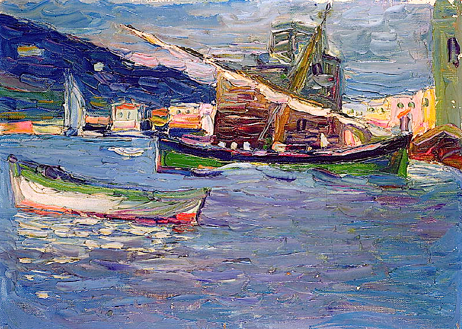Wassily Kandinsky - Rapallo 1905