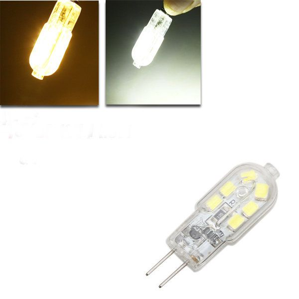 Us 1 95 15 G4 Led Bulb 1 5w 120lm 12 Smd Pure White Warm White Corn Light Spotlight Ac Dc 12v Led Light Bulbs From Lights Lighting On Banggood Com