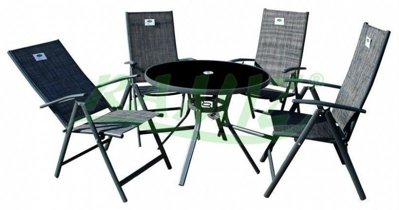 Meble Ogrodowe Zestaw Okrągły Stół4 Krzesła Alum Pinterest Gardens