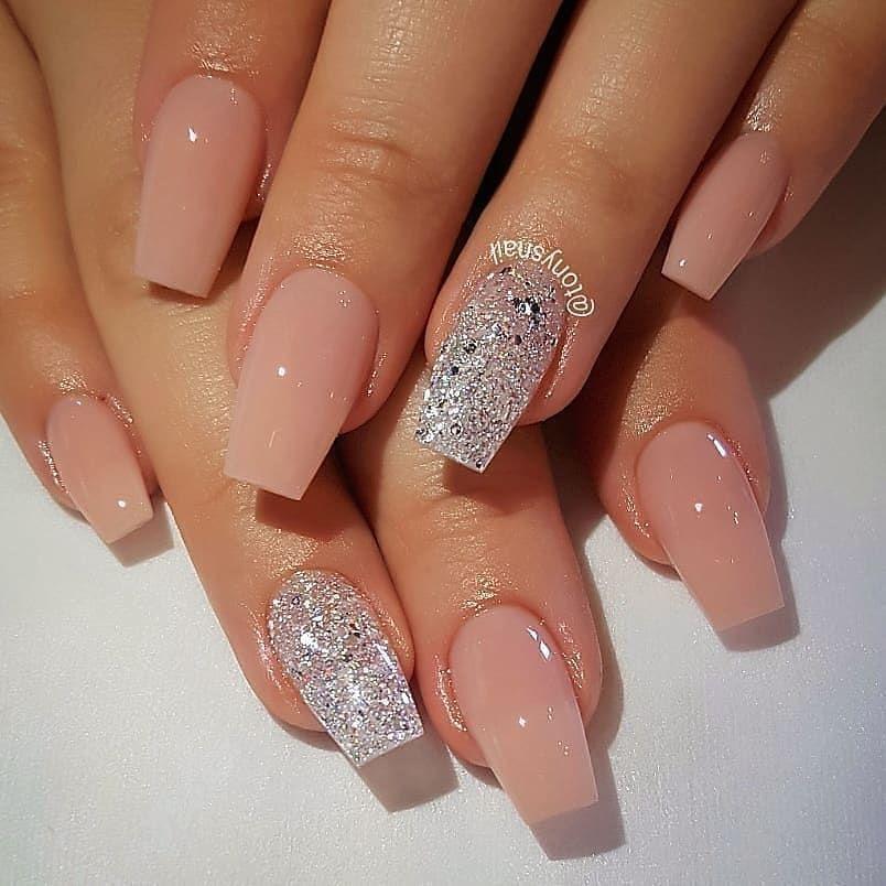 Beautiful Nails 1 4 By Tonysnail Follow Me Instamakeupfile Natural Acrylic Nails Gorgeous Nails Short Acrylic Nails