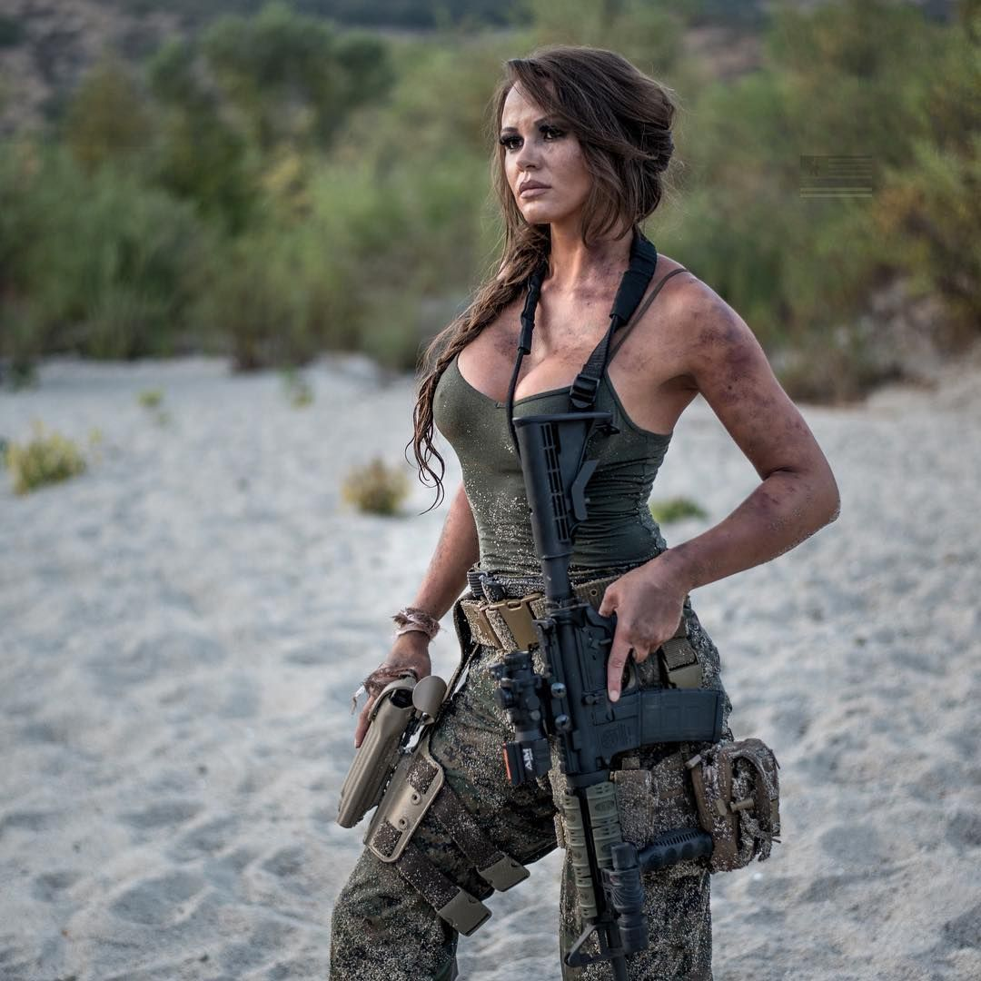 Female soldier naked Military Porn