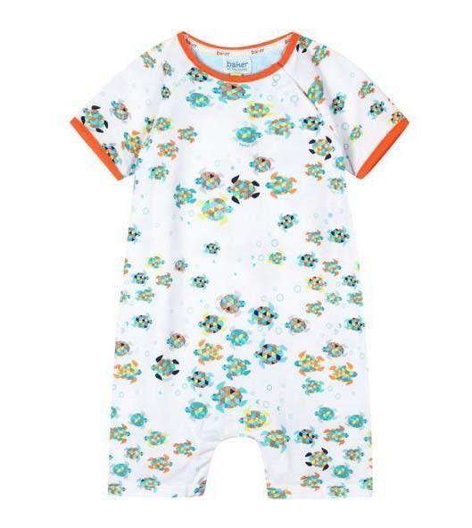 f8eb18a7ddd7ab Ted Baker Baby Boys Romper Bodysuit Turtle Designer 12-18 Months ...