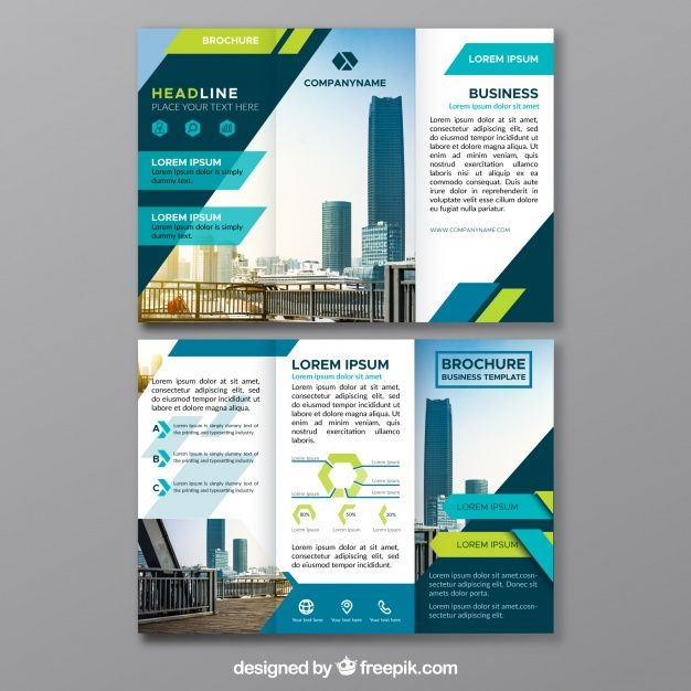 Triptych Of Abstract Business Forms Free Vector  Web
