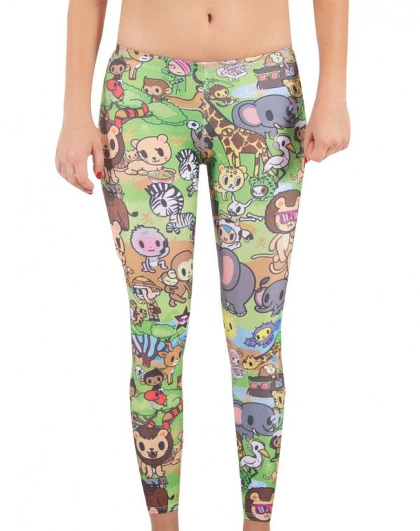 907186a48 Maybe wear with a tunic or something. tokidoki x Japan LA Savannah Leggings