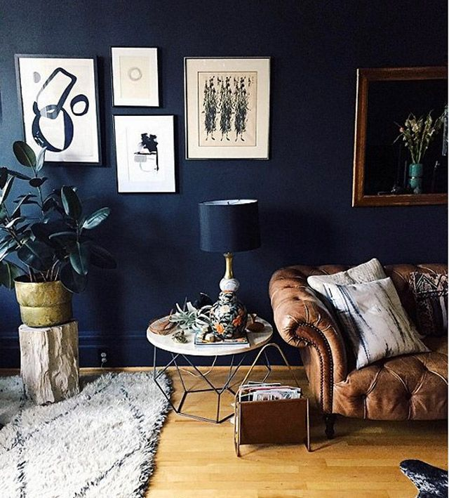 witching home office interior. How To Choose The Best Black Paint Colours From Benjamin Moore For Any Room In Your Home. This Living Is Painted Moore\u0027s Witching Hour! Home Office Interior A