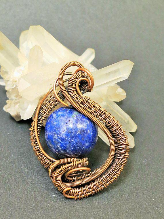 Anhänger/Pendant/Lapis Lazuli/Edelsteinschmuck/Heilstein ...