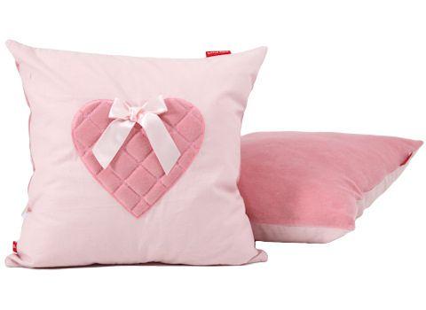 Sierkussen Sweetheart pink is verkrijgbaar bij www.leukstebabykamers.nl. Voor 17 uur besteld = volgende dag in huis + gratis bezorging!