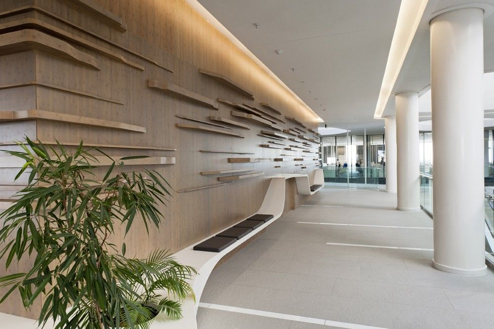 Alexander Forbes Head Office Commercial Office Design Lobby