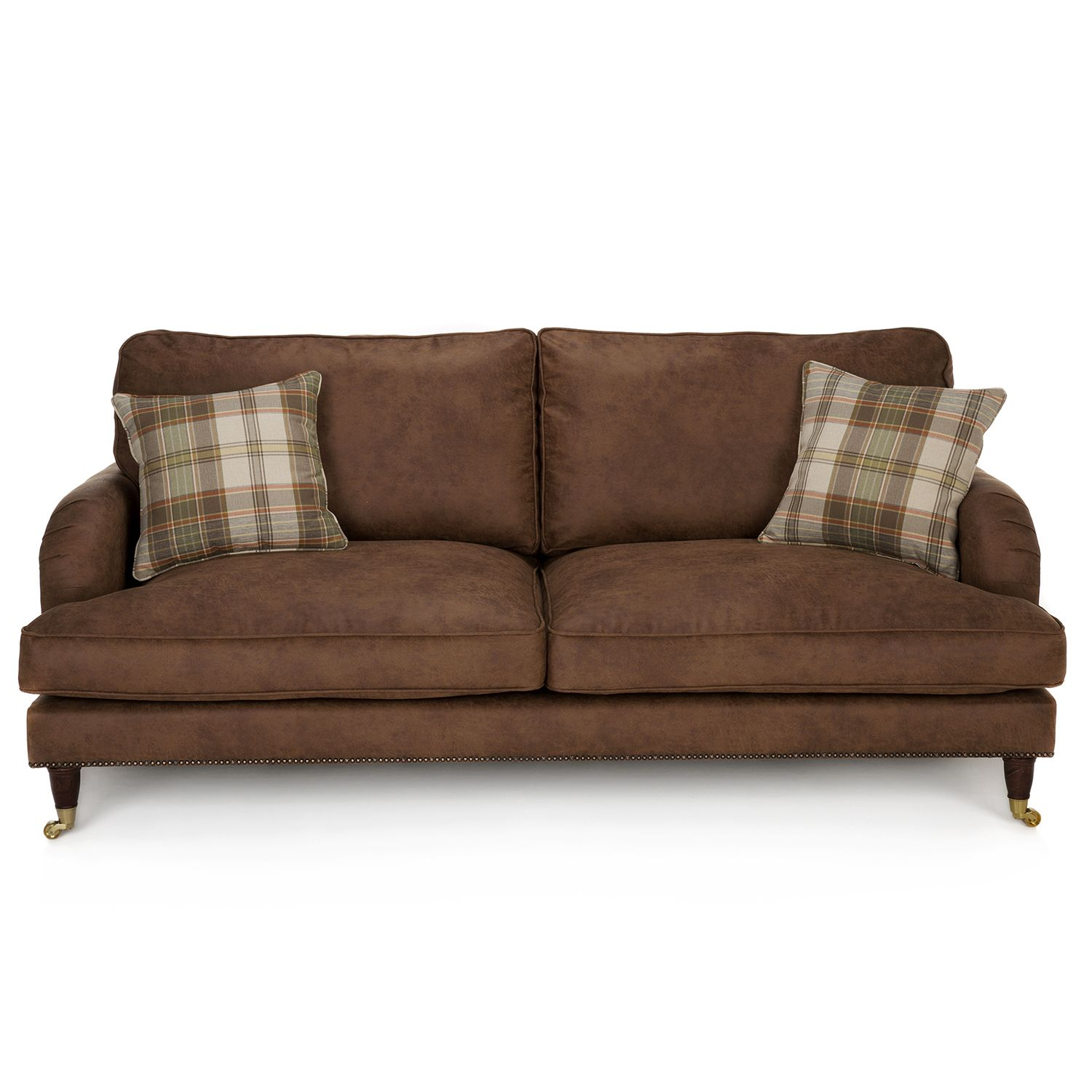 Clic Nevada 3 Seater Faux Leather Sofa Next Day Delivery