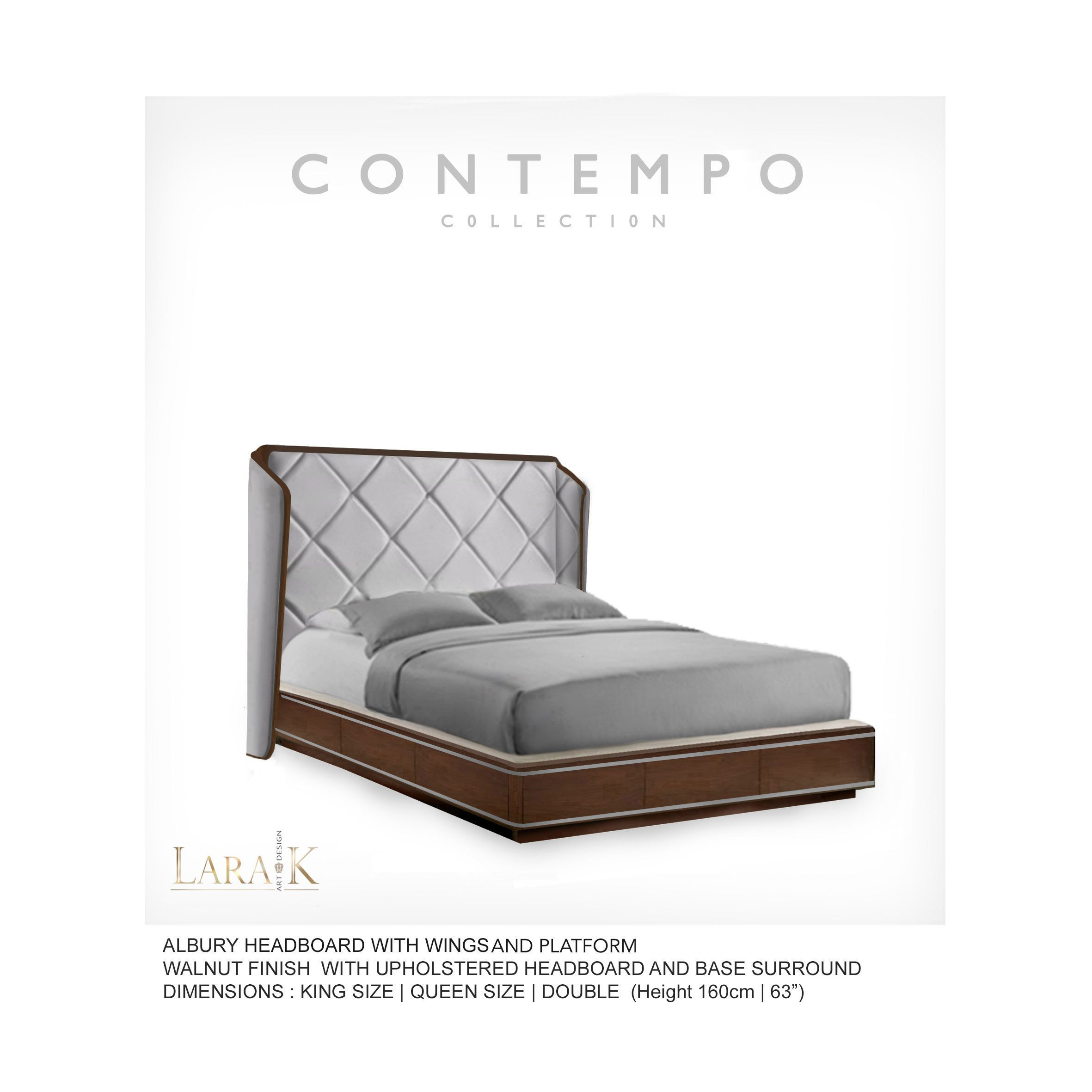 Br Albury Bed Wings 2 The Contempo Collection Was Created For The