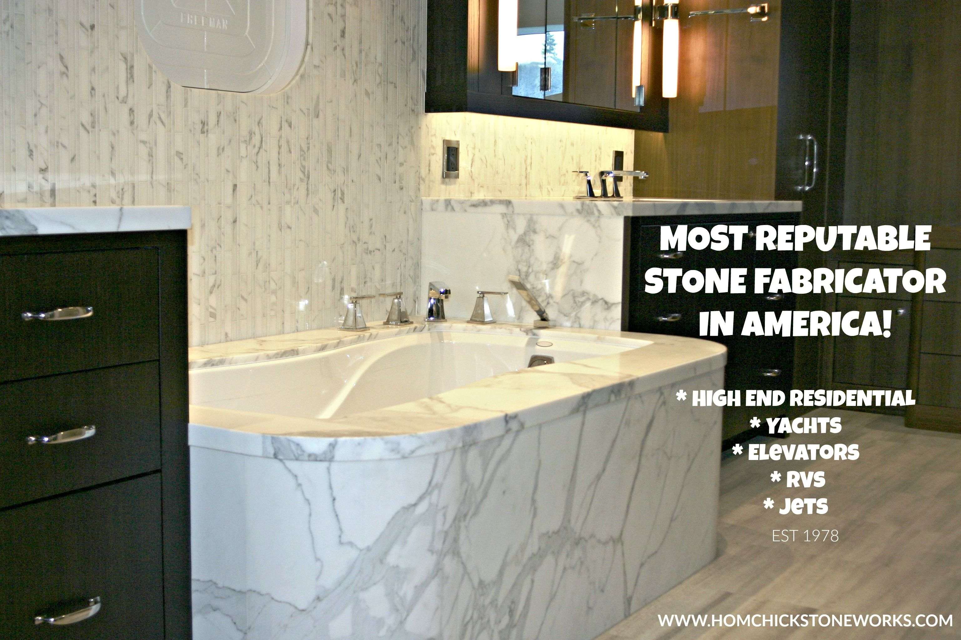 Stone Fabricator In Seattle Washington That Specializes In Lightweight 1cm Stonework On Yachts Rv S Jets Elevators E Marble Slab Travertine Installation